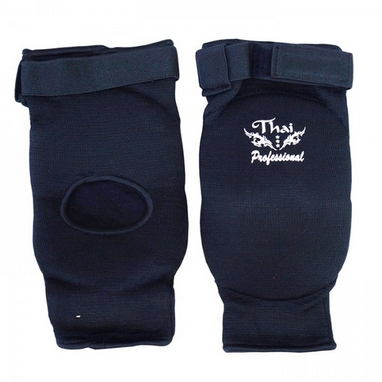 Налокотники для тайского бокса Thai Professional EB1 черные