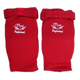 Фото 3 к товару Налокотники для тайского бокса ThaiProfessional EB1 красные