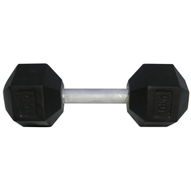 Фото 1 к товару Гантель профессиональная шестигранная Newt Profi 46 кг