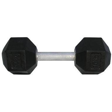 Гантель профессиональная шестигранная Newt Profi 66 кг