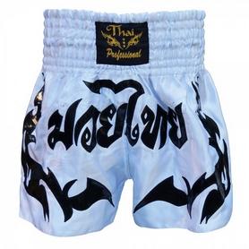 Трусы для тайского бокса Thai Professional S6 TPS6-W/BK