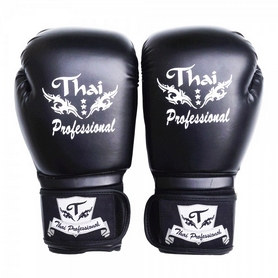Перчатки боксерские Thai Professional BG3 TPBG3-BK-10 10 Oz черные