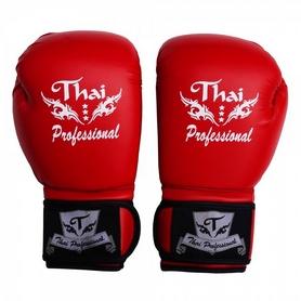 Фото 1 к товару Перчатки боксерские Thai Professional BG3 TPBG3-R красные