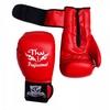 Перчатки боксерские Thai Professional BG3 TPBG3-R красные - фото 2