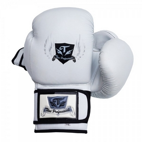 Фото 1 к товару Перчатки боксерские Thai Professional BG5VL TPBG5VL-W белые