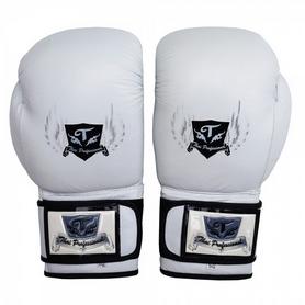 Фото 2 к товару Перчатки боксерские Thai Professional BG5VL TPBG5VL-W белые