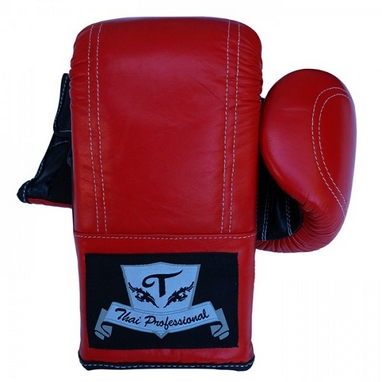 Перчатки снарядные Thai Professional BG6 TPBG6-R красные