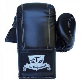Фото 1 к товару Перчатки снарядные Thai Professional BGA6 TPBGA6-BK черные