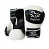 Перчатки боксерские Thai Professional BG7 TPBG7-BK-W черно-белые - фото 2