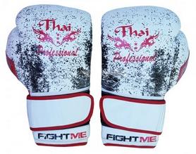 Перчатки боксерские Thai Professional BG1 TPBG1GEL белые
