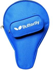 Чехол для одной ракетки Butterfly Pro-Case овальный синий BPC-1-O-Bl