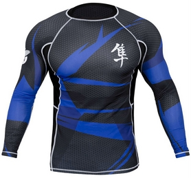 Фото 1 к товару Рашгард Hayabusa Metaru 47 Rash Guard Longsleeve Blue