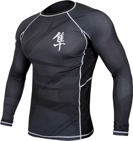 Рашгард Hayabusa Metaru 47 Rash Guard Longsleeve Black
