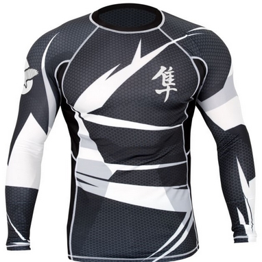 Рашгард Hayabusa Metaru 47 Rash Guard Longsleeve White