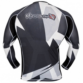 Фото 2 к товару Рашгард Hayabusa Metaru 47 Rash Guard Longsleeve White