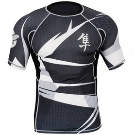 Рашгард Hayabusa Metaru 47 Rash Guard Shortsleeve White