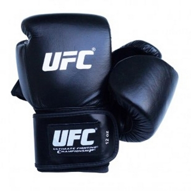 Перчатки боксерские UFC CL черные