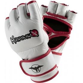 Фото 2 к товару Перчатки для ММА Hayabusa Replika White