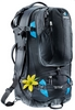 Рюкзак туристический Deuter Traveller 60 + 10 SL black-turquoise 7321 - фото 1