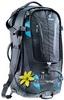 Рюкзак туристический Deuter Traveller 60 + 10 SL black-turquoise 7321 - фото 4
