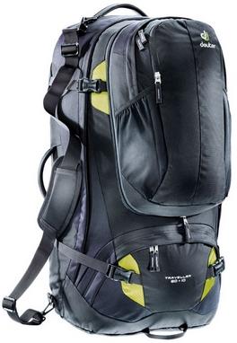 Рюкзак туристический Deuter Traveller 80 + 10 black-moss 7260