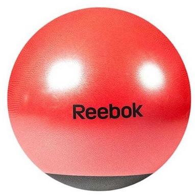 Мяч для фитнеса (фитбол) 65 см Reebok красный с черным