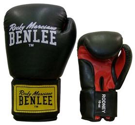 Перчатки боксерские Benlee Rodney черно-красные