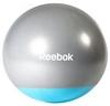 Мяч для фитнеса (фитбол) 55 см Reebok серый с голубым - фото 1
