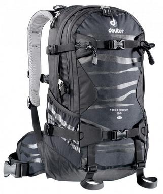 Рюкзак спортивный Deuter Freerider 24 л SL black-black