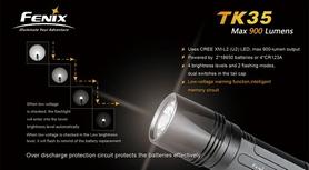 Фото 3 к товару Фонарь тактический Fenix TK35 Cree XM-L2 U2 LED