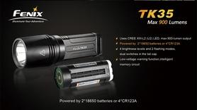 Фото 4 к товару Фонарь тактический Fenix TK35 Cree XM-L2 U2 LED