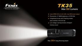 Фото 7 к товару Фонарь тактический Fenix TK35 Cree XM-L2 U2 LED