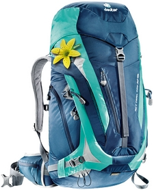 Рюкзак туристический Deuter Act Trail Pro 32 л SL midnight-mint - фото 1