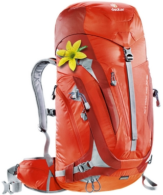 Рюкзак туристический Deuter Act Trail Pro 32 л SL papaya-lava