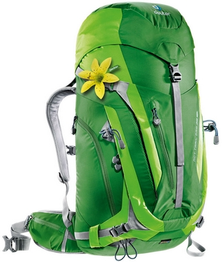 Рюкзак туристический Deuter Act Trail Pro 38 л SL emerald-kiwi