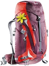 Рюкзак туристический Deuter Act Trail Pro 38 л SL aubergine-fire