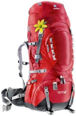 Рюкзак туристический Deuter Aircontact Pro 55+15 л SL cranberry-fire