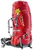 Рюкзак туристический Deuter Aircontact Pro 55+15 л SL cranberry-fire - фото 1