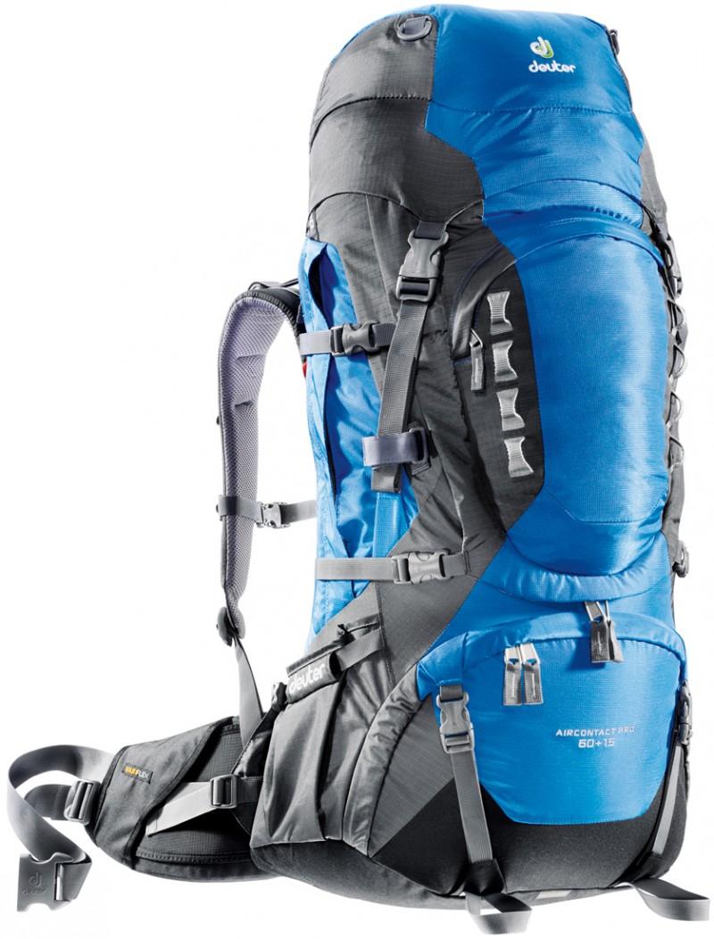 Рюкзак туристический Deuter Aircontact Pro 60+15 л ocean-anthracite