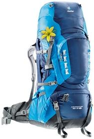 Рюкзак туристический Deuter Aircontact Pro 65+15 л SL midnight-turquoise