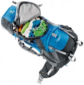 Фото 2 к товару Рюкзак туристический Deuter Aircontact Pro 65+15 л SL midnight-turquoise