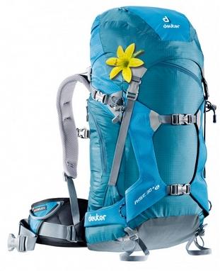 Рюкзак туристический Deuter Rise 30 л SL denim-turquise