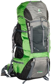 Рюкзак туристический Deuter Aircontact 110+10 л granite-emerald