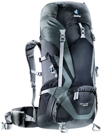 Фото 1 к товару Рюкзак Deuter Act Lite 50 + 10 л black-granite