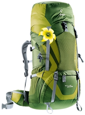 Рюкзак Deuter Act Lite 60 + 10 л SL pine-moss