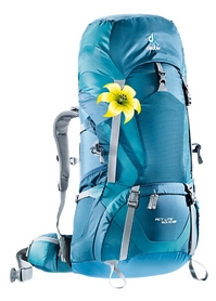 Фото 1 к товару Рюкзак Deuter Act Lite 60 + 10 л SL arctic-denim
