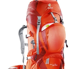 Фото 3 к товару Рюкзак Deuter Act Lite 65 + 10 л granite-fire