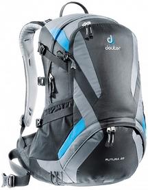 Рюкзак туристический Deuter Futura 22 л black-titan