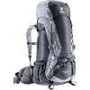 Рюкзак туристический Deuter Aircontact 50+10 л black-titan - фото 1