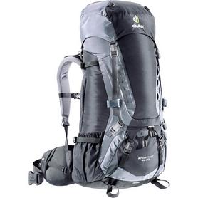 Рюкзак туристический Deuter Aircontact 50+10 л black-titan